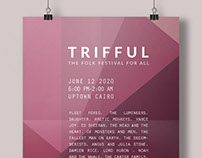 Trifful Line Up Poster & Brand Guidelines