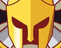 Spartan bats insignia