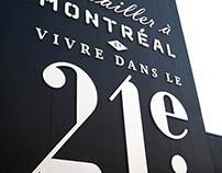 21e arrondissement - Brand identity