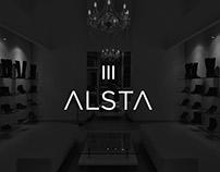 Redesign of logo ALSTA