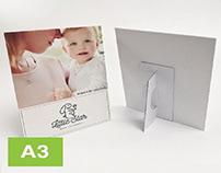 A3 Strut Card Printing