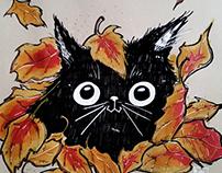 Chaton d'automne