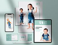 Identidade Visual: BIT Moda Infantil