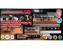 HTML5 Game: Greyhound Racing