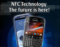 Poster design for NFC technology