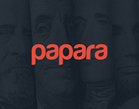 Papara Multiplatform UI / UX Design