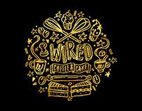 Wired Coffee Shop Branding