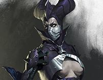 Mortal Kombat X - Dark Empress Kitana