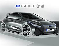 VolksWagen eGOLF-R