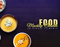 Food Mockup Creator