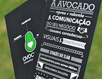 Cartão de Visita Avocado
