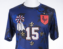 """La Vie en Bleu"" France Football Tribute Shirt"
