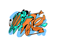 | Digital Graffiti Stickers |