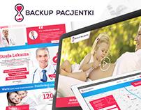 Backup Pacjentki | Web Design