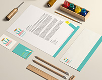 Claire's Art Supplies - Corporate Identity + Stationery
