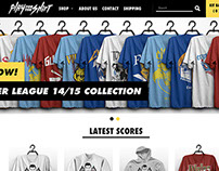 Play For The Shirt - Responsive Design