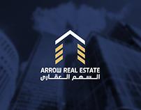 Arrow Real Estate Logo & Identity