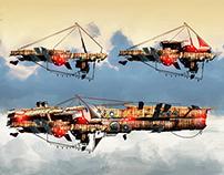 Pirate x Steampunk - Ships