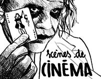 First exhibition: scènes de Cinéma