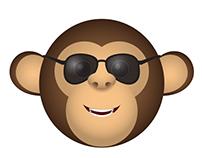 Monkey emoticons