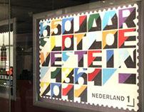 #650JaarSlotLoevestein Stampdesign by #AndréToet