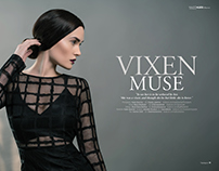 Vixen Muse for 7Hues Magazine