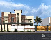 1 Kanal House Elevation