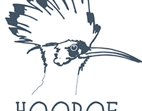 Hoopoe Wine Label Design