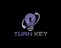 Turn Key Company Logo Design