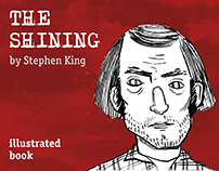 """the shining"" by Stephen King"