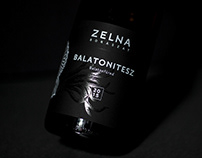 Zelna Balatonites Wine Label