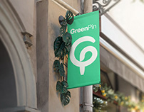 GreenPin - Branding for a Sustainable Lifestyle WebApp