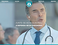 Website Esquadrão Pneumonia
