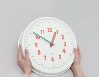 Paper Pulp Wall Clock
