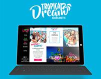 Tropical Dream /Identidad de marca + Sitio Web
