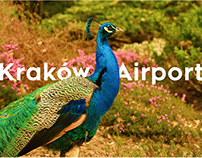 KRAKOW AIRPORT Logo and visual identity design