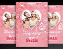 Valentine Sale Flyer