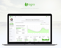 Farmer and user back office dashboard
