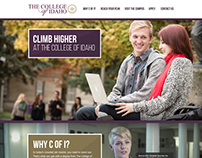 The College of Idaho Landing Page