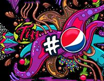 Pepsi Illustrations