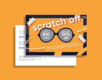 Direct Mailer – Scratch Off Coupon