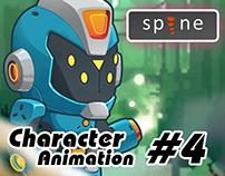 Spine Animation - Megabot Character #4