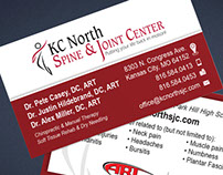 KC North Spine & Joint Center Brand Development