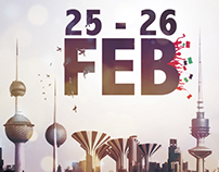 25-26 FEB KUWAIT National DAY
