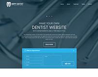 Dentist UI/UX Web Design