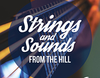 Strings and Sounds From the Hill CD Case Design