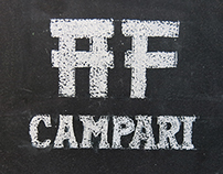 Campari - Blackboard Lettering for #antiferiado