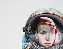 Tintín.Aterrizaje en la Luna Tribute.by julepe