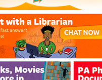 Power Kids Website Illustrations