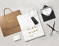 Logo and brand identity for hairstylist